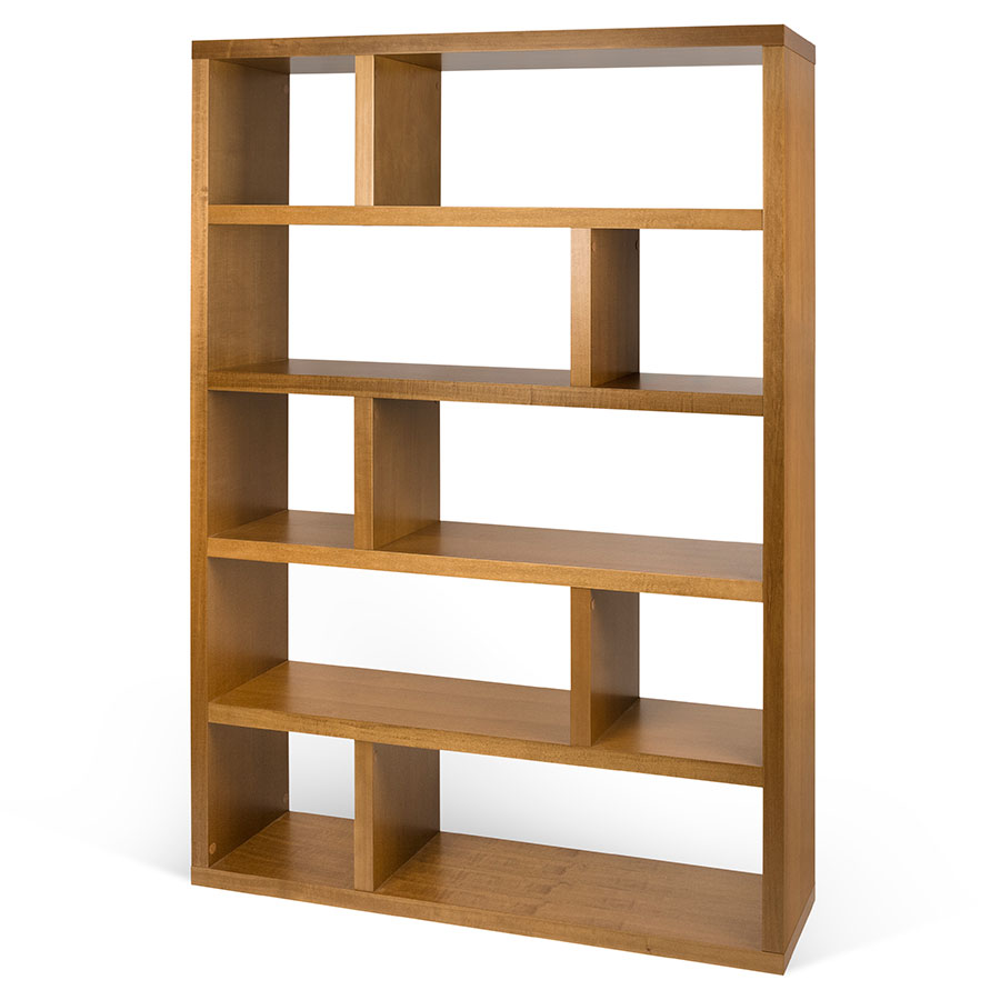 Dublin Modern Tall Mukali Bookcase By TemaHome Eurway