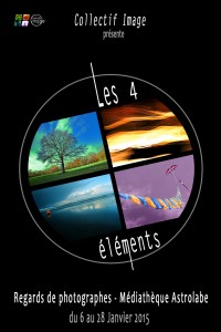 affiche expo 4elements v1.4