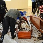 Inhumation à Nyanza
