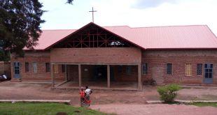 L'église de Kabarondo aujourd'hui.