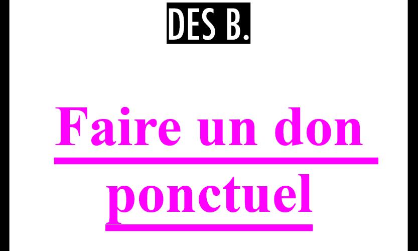 18 BAR bouton don ponctuel