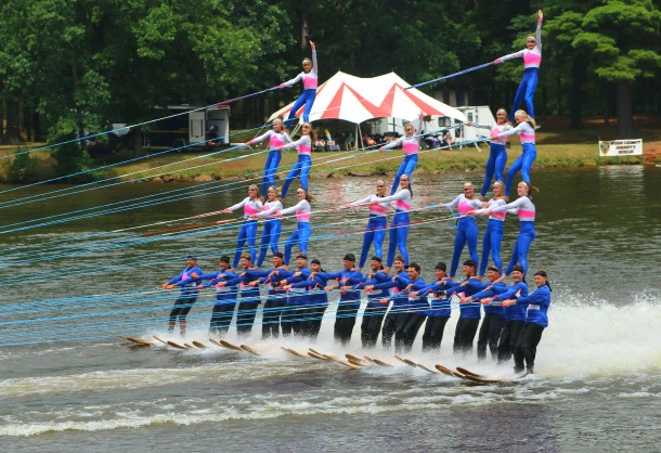 Water Ski Show in Wisconsin