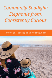 Community Spotlight: Stephanie from Consistently Curious