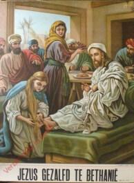 Verzameling in beeld - Jezus gezalfd te Bethanië (Joh. 12:1-11)