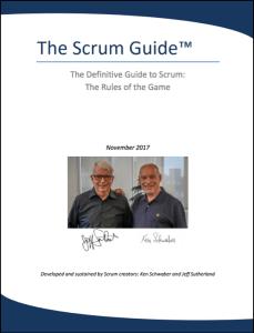 The Scrum Guide 2017