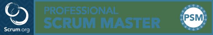 Professional Scrum Master Banner