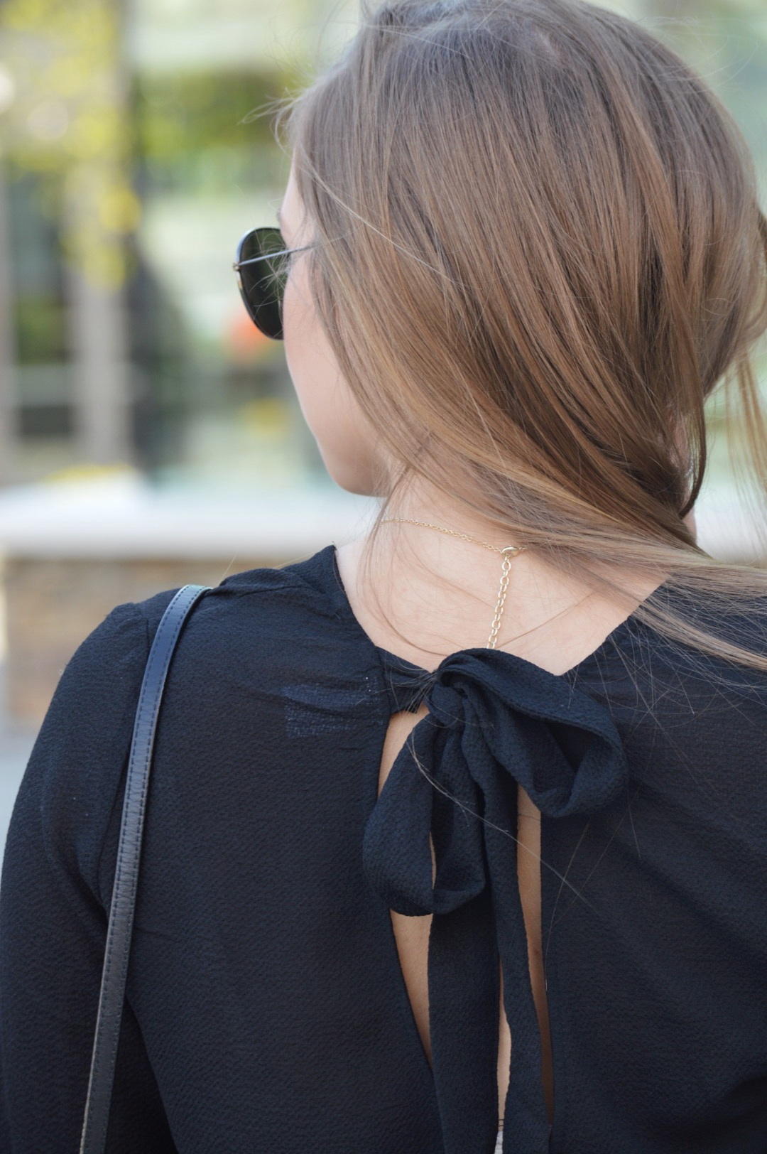Black Bow Shirt