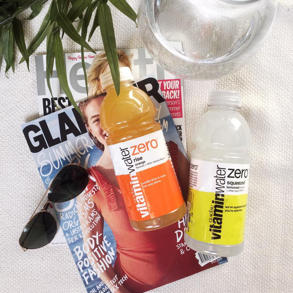 Hydrating with VitaminWater