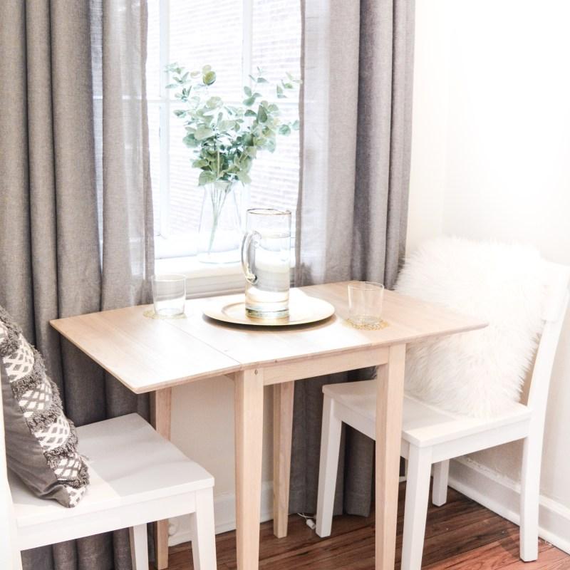 How to Style a Studio Apartment Kitchen