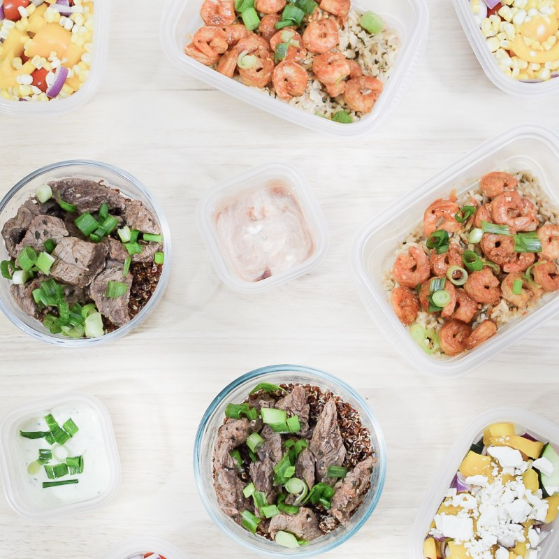 Easy Meal Prep Recipes for the On-The-Go Girl