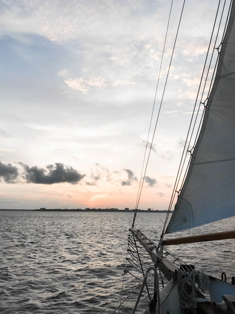 What to Do in Charleston: Sunset Sail