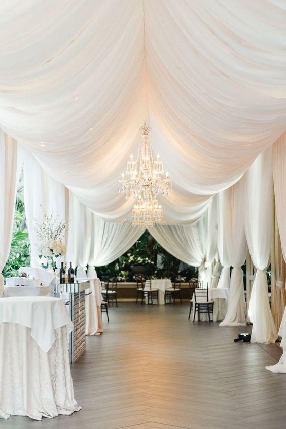 Beautiful Wedding Venue Drapery