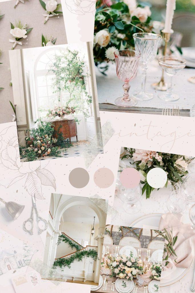 Wedding Planning Inspiration Mood Board