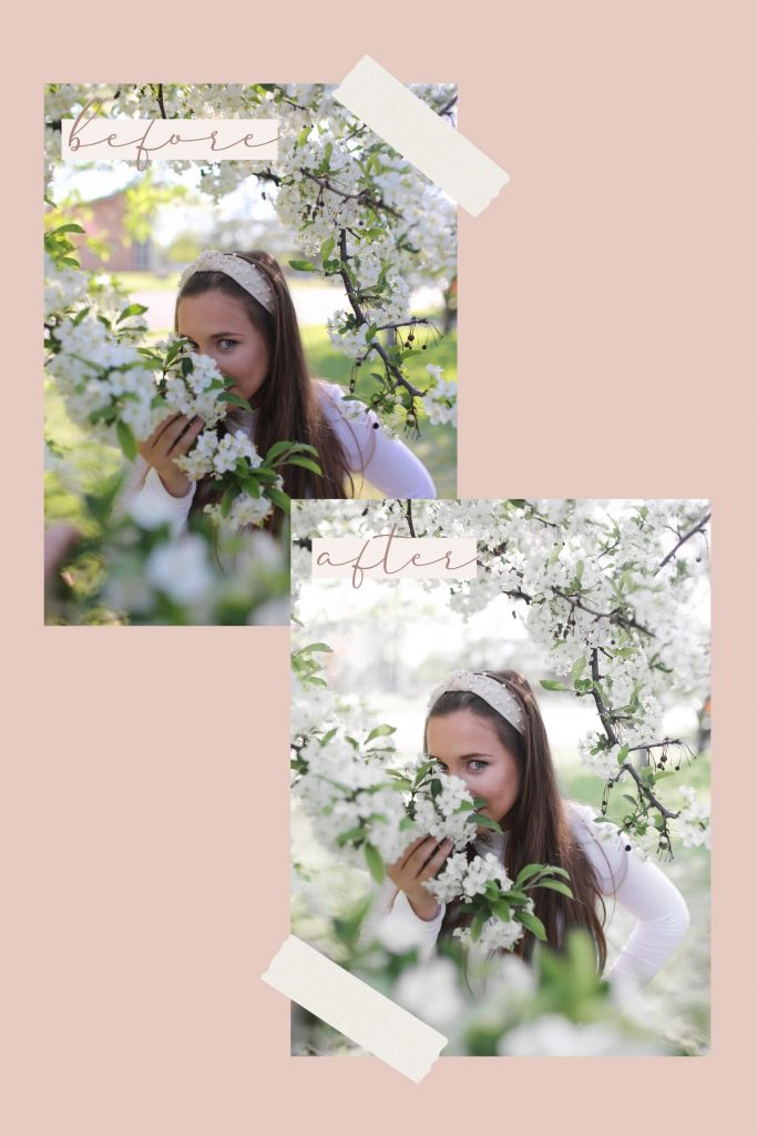 Bright and Airy Pastel Photo Edits