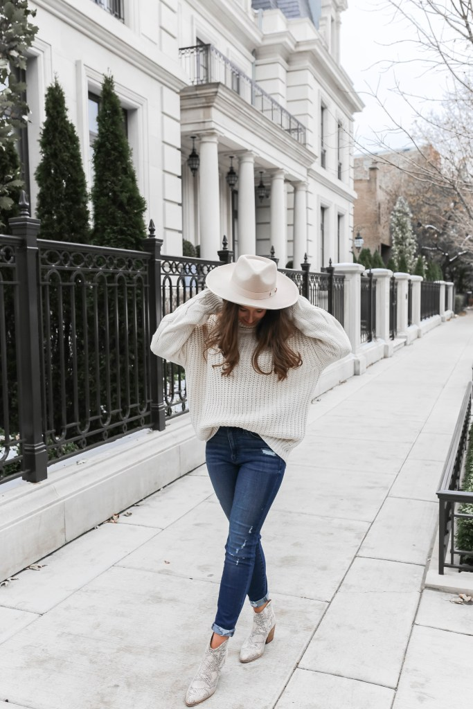 Essential Fall and Winter Style Staples: Wide Brim Hat