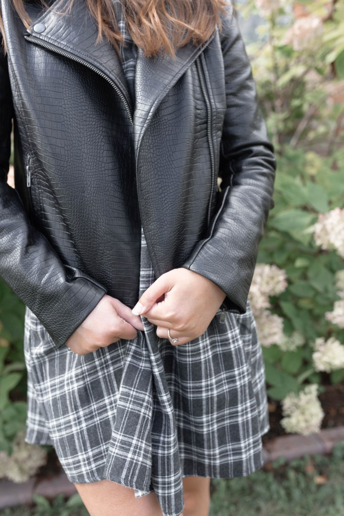 Perfect Versatile Faux Leather Moto Jacket for a Fall and Winter Capsule Wardrobe