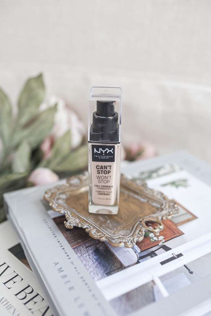 Non-Comedogenic Foundation Free of Skin-Clogging Ingredients