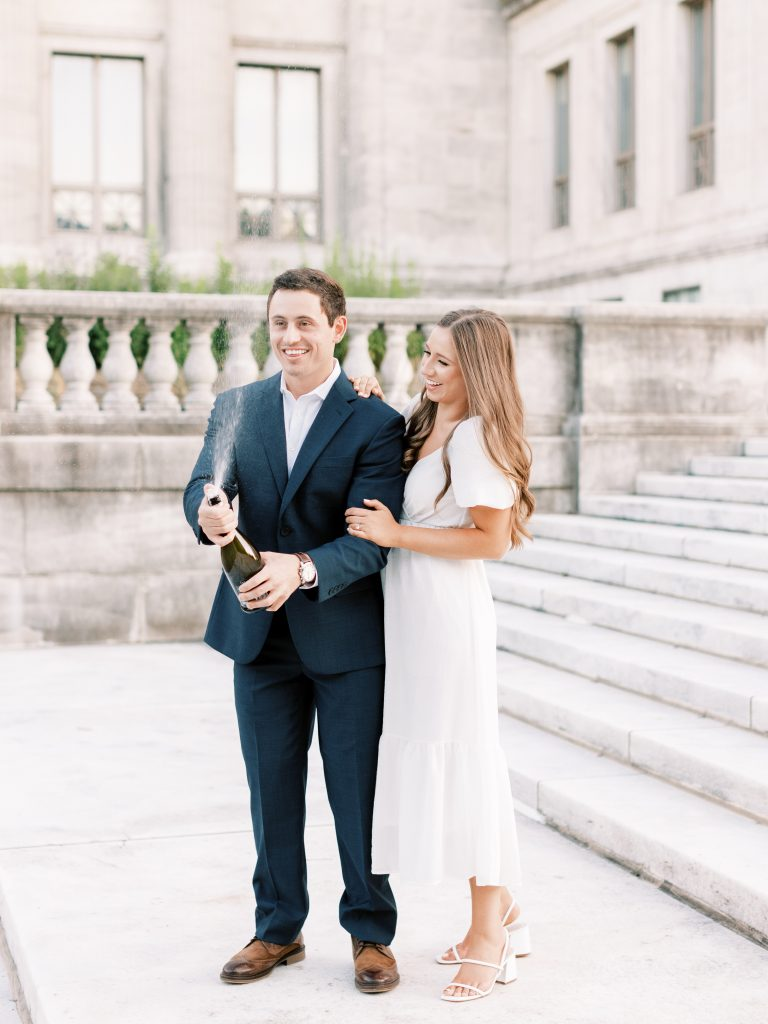 Romantic and Timeless Engagement Photoshoot