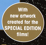 with new artwork created for the special edition films!