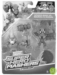 MARVEL Super Hero Mashers Micro - Spider-Man vs. MARVEL's Rhino
