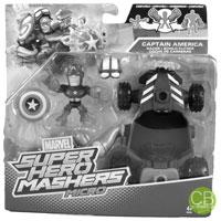 MARVEL Super Hero Mashers Micro - Captain America Racer