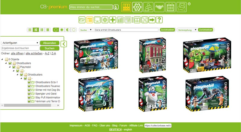 Playmobil Ghostbusters - Objektübersicht