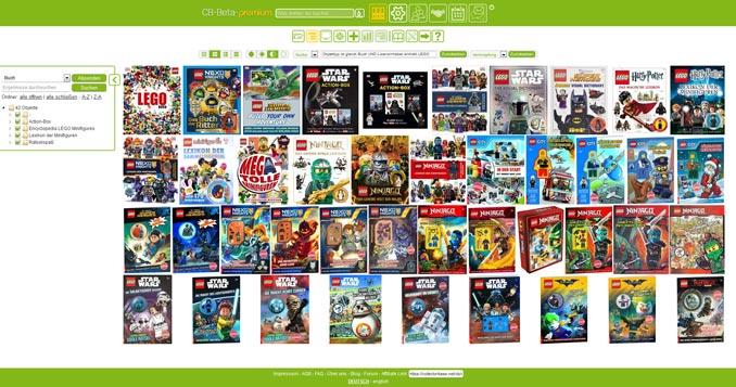 LEGO Bücher auf COLLECTORBASE.net