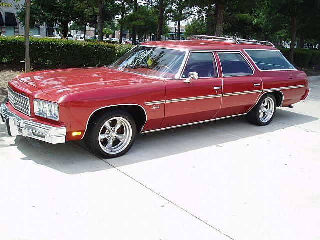 1976 Chevrolet Impala Wagon For Sale Houston Texas