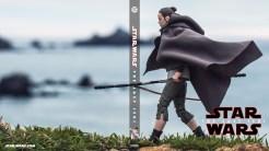 Custom Blu-ray wrap of Rey on Ahch-To