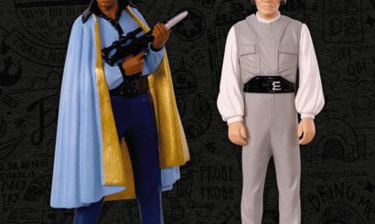 Lando Calrissian and Lobot Hallmark Keepsake ornament Comic Con exclusive