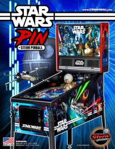 Stern Pinball Announces New Star Wars™ Pin™ Affordable