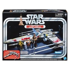 STAR WARS THE VINTAGE COLLECTION LUKE SKYWALKER'S X-WING FIGHTER Vehicle - in pck