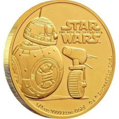 BB-8 and D-0 coin