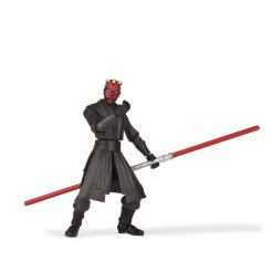 STAR WARS GALAXY OF ADVENTURES 5-INCH DARTH MAUL Figure oop (3)