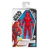 STAR WARS GALAXY OF ADVENTURES 5-INCH SITH JET TROOPER Figure in pck