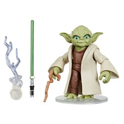 STAR WARS GALAXY OF ADVENTURES 5-INCH YODA Figure oop (1)