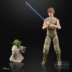 STAR WARS THE BLACK SERIES 6-INCH LUKE SKYWALKER AND YODA (JEDI TRAINING) DELUXE Figures - oop (1) (Small)