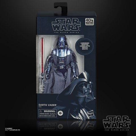 STAR WARS THE BLACK SERIES CARBONIZED COLLECTION 6-INCH DARTH VADER Figure - in pck (Small)