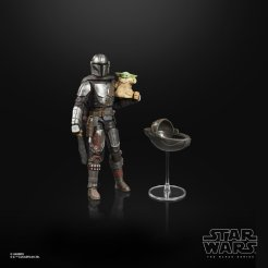 STAR WARS THE BLACK SERIES 6-INCH DIN DJARIN (THE MANDALORIAN) & THE CHILD BUILD-UP PACK - oop (5)