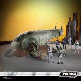 STAR WARS THE VINTAGE COLLECTION BOBA FETT'S SLAVE I Vehicle - oop (8)