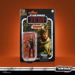 STAR WARS THE VINTAGE COLLECTION LUCASFILM FIRST 50 YEARS 3.75-INCH LUKE SKYWALKER (ENDOR) - in pck