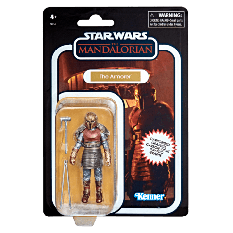 STAR WARS THE VINTAGE COLLECTION CARBONIZED COLLECTION 3.75-INCH THE ARMORER Figure_in pck 2