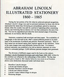 Abraham Lincoln Illustrated Stationery