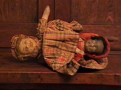 Collectors Weekly Show & Tell poster stepback_antiques has this topsy-turvy doll from the 1870s in his collection.