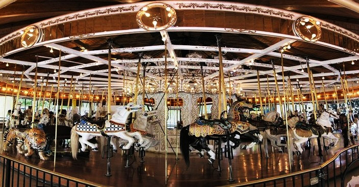 Looff Merry-Go-Round, Carousel
