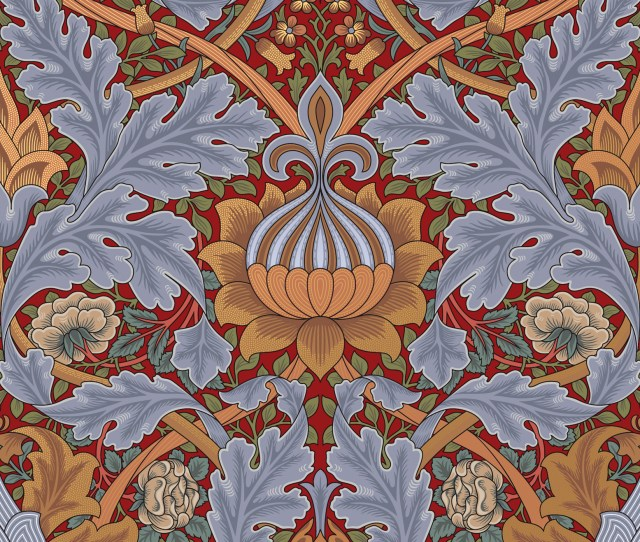 Everybody Hates Wallpaper From The Red Flocked Velvet Damasks That Once Darkened The Walls Of Wild West Bordellos To The Garish Supergraphics That Give