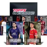 2021-22 TOPPS On Demand UEFA Champions League Summer Signings Soccer Cards Set