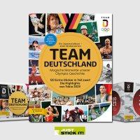Juststickit Team Deutschland - Tokio 2021 Sticker