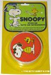 Joe Cool & Woodstock Stick-on Auto Air Freshener