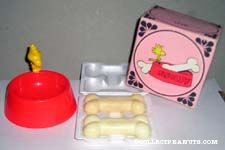 Snoopy's Pal Soap Dish and Soaps